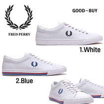 FRED PERRY Casual Style Unisex Collaboration Low-Top Sneakers