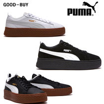 PUMA SUEDE Casual Style Unisex Suede Collaboration Low-Top Sneakers