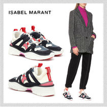 Isabel Marant Rubber Sole Casual Style Low-Top Sneakers