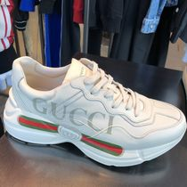 GUCCI Street Style Plain Sneakers