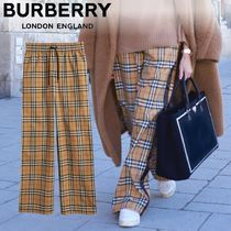Burberry Casual Style Cotton Long Pants