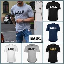 BALR Street Style Plain Cotton T-Shirts
