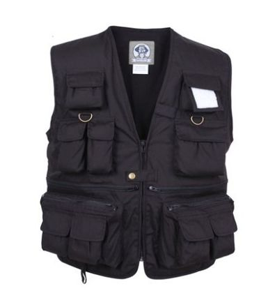 Unisex Cotton Fly-Fishing Vest Vests & Gillets