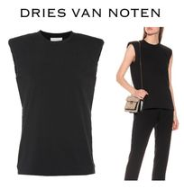 Dries Van Noten Casual Style Wool Cropped Plain Long Shirts & Blouses