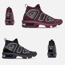 Nike AIR MORE UPTEMPO Casual Style Unisex Faux Fur Street Style Low-Top Sneakers
