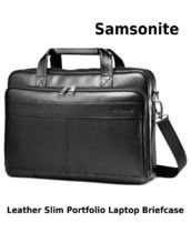 Samsonite A4 3WAY Plain Leather Business & Briefcases