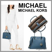 Michael Kors 2WAY Plain Leather Office Style Handbags