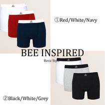 Bee Inspired Clothing Street Style Plain Cotton Boxer Briefs