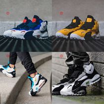 Nike AIR MAX Faux Fur Blended Fabrics Street Style Sneakers
