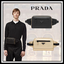 PRADA Saffiano Plain Hip Packs