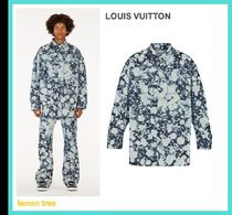 Louis Vuitton Street Style Long Sleeves Cotton Oversized Luxury Shirts
