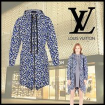 Louis Vuitton Monogram Casual Style Street Style Long Outerwear