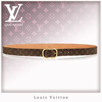 Louis Vuitton MONOGRAM Monogram Leather Belts