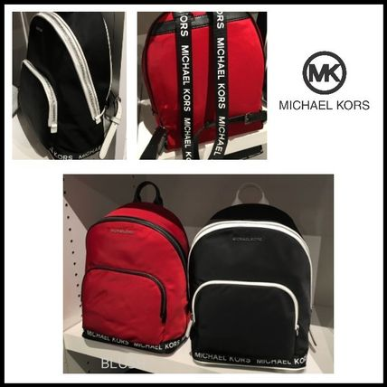 12b57536ecfe Michael Kors 2019 SS Casual Style Nylon Plain Backpacks (35S9SI7B8C ...