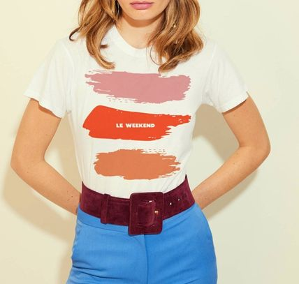 Street Style Cotton Short Sleeves T-Shirts
