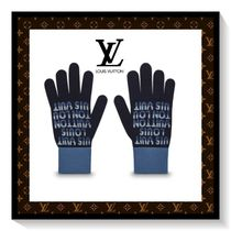 Louis Vuitton Unisex Wool Gloves Gloves