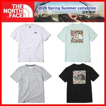 THE NORTH FACE Unisex Street Style T-Shirts