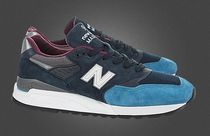 New Balance Suede Street Style Plain Sneakers