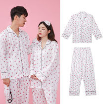 Unisex Plain Cotton Lounge & Sleepwear