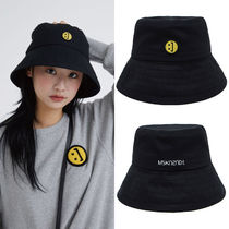 MSKN2ND Unisex Street Style Bucket Hats Wide-brimmed Hats