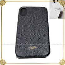 CELINE Leather Smart Phone Cases