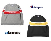CHAMPION Crew Neck Street Style Collaboration Long Sleeves
