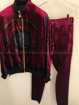 VERSACE Street Style Collaboration Bold Top-bottom sets