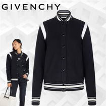 GIVENCHY Short Stripes Unisex Wool Street Style Varsity Jackets