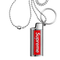 Supreme Unisex Street Style Necklaces & Chokers