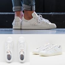 adidas STAN SMITH Round Toe Casual Style Unisex Street Style Low-Top Sneakers