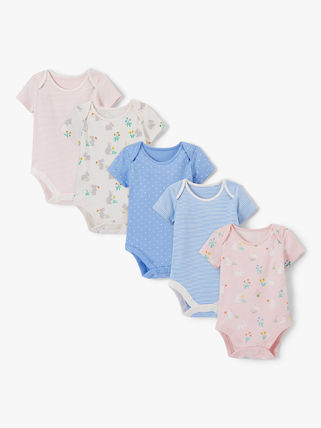 Organic Cotton Baby Girl Dresses & Rompers