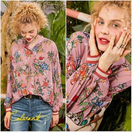 Casual Style Street Style Shirts & Blouses