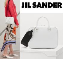 Jil Sander Calfskin Collaboration 2WAY Plain Home Party Ideas