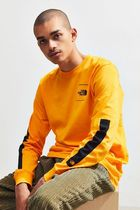 THE NORTH FACE Long Sleeve Crew Neck Street Style Long Sleeves Cotton 5