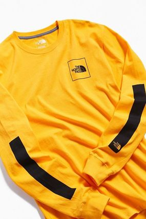 THE NORTH FACE Long Sleeve Crew Neck Street Style Long Sleeves Cotton 6
