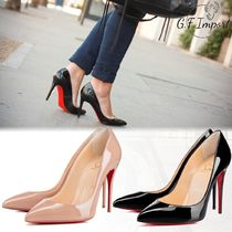 Christian Louboutin Pigalle Follies Casual Style Pin Heels Stiletto Pumps & Mules