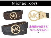 Michael Kors Bi-color Logo Belts