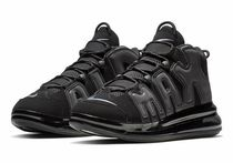 Nike AIR MORE UPTEMPO Unisex Street Style Plain Sneakers