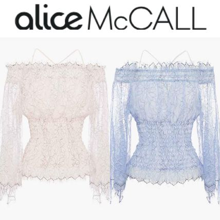 Short Plain Party Style Lace Cropped