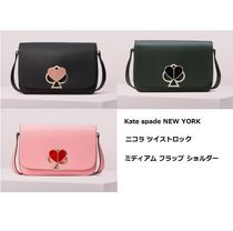kate spade new york Heart Leather Shoulder Bags