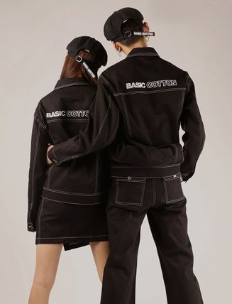 Casual Style Unisex Street Style Jackets