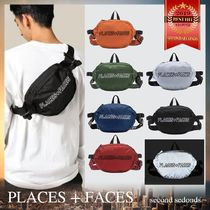 PLACES+FACES Unisex Street Style Plain Hip Packs
