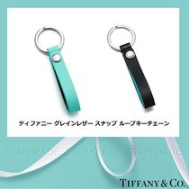 Tiffany & Co Unisex Leather Keychains & Bag Charms