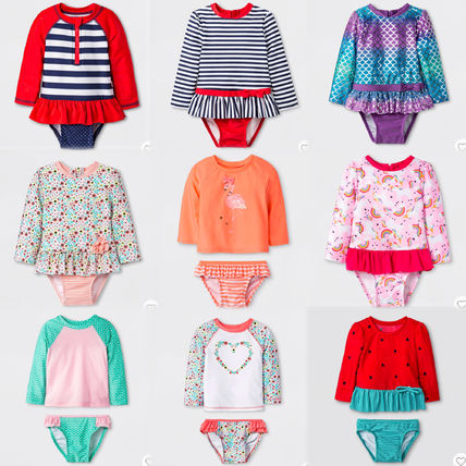 Blended Fabrics Baby Girl Swimwear