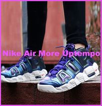 Nike AIR MORE UPTEMPO Unisex Petit Street Style Kids Girl Sneakers