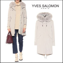 YVES SALOMON Cashmere & Fur Coats