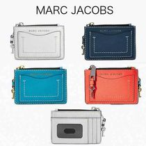 MARC JACOBS Stripes Leather Coin Purses