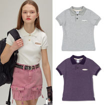 SCULPTOR Short Casual Style Street Style Plain Cotton Short Sleeves