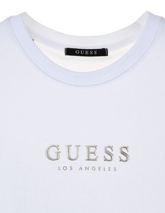 Guess More T-Shirts Unisex Street Style Cotton T-Shirts 2