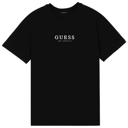 Guess More T-Shirts Unisex Street Style Cotton T-Shirts 6